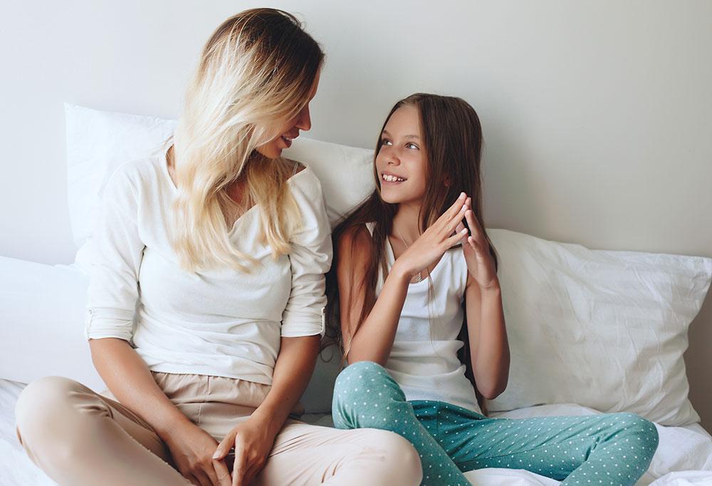 Aider son enfant à gérer sa puberté précoce